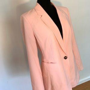 Blush/pink size 8 DKNY blazer